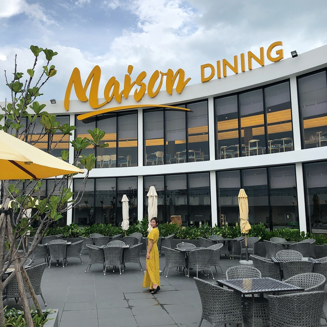 Nghỉ dưỡng tại khu du lịch Hồ Tràm, Vũng Tàu - Maison Dinning