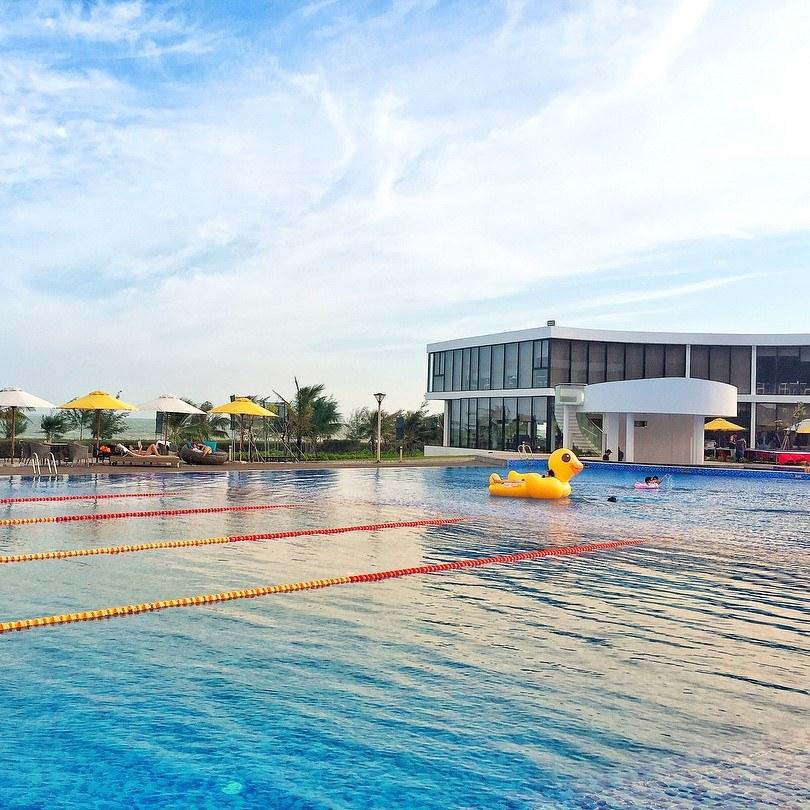 Cận cảnh resort đẹp ở Hồ Tràm khiến dân tình ngẩn ngơ