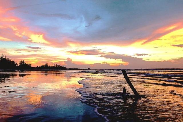 Khách sạn Hồ Tràm đẹp - Cảnh biển