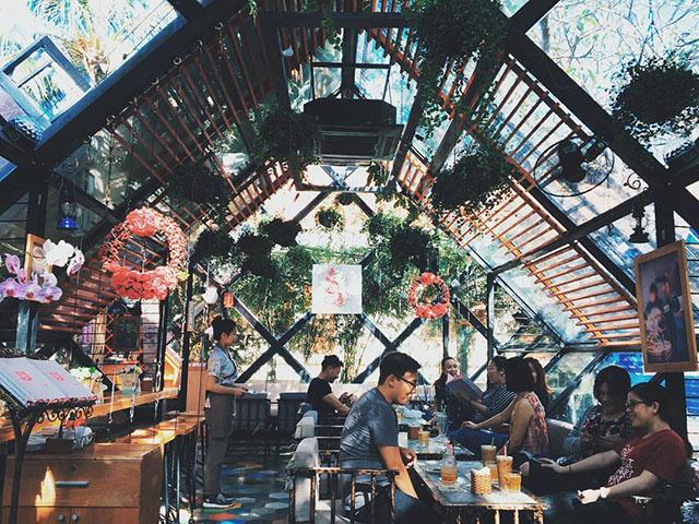 Quán cafe đẹp bãi sau Vũng Tàu - La Vie En Rose - Ảnh 2